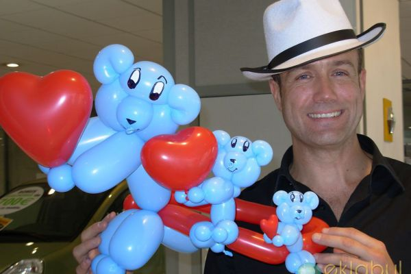 Sculpture Ballons - Evénement Eklabul