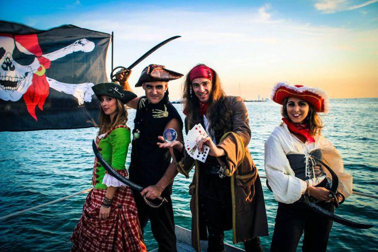 Anniversaire Pirates pour enfant