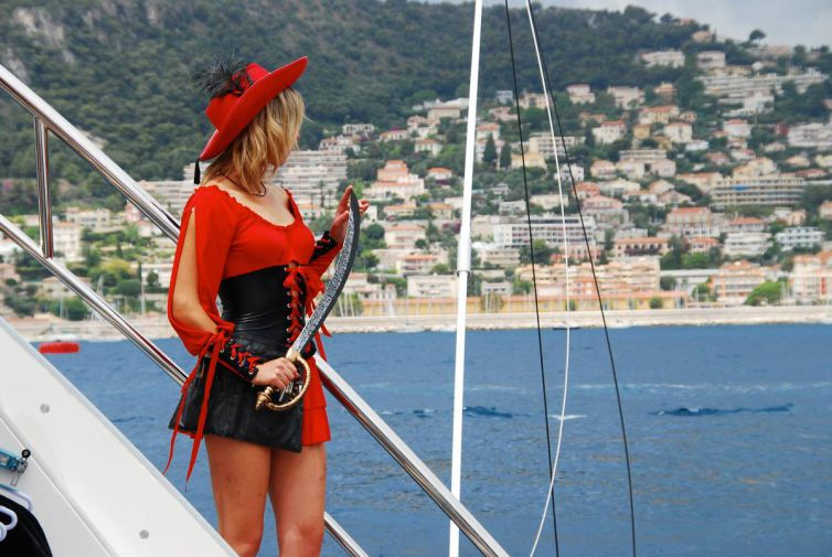 Anniversaire pirates Yacht