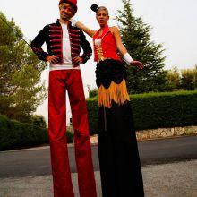 soirée adultes thème circus Roquefort - Eklabul Evenements