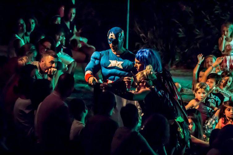 Des SuperHéros à Cap Esterel