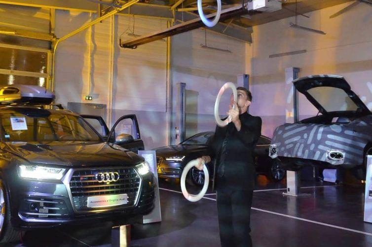Audi party in Bordeaux
