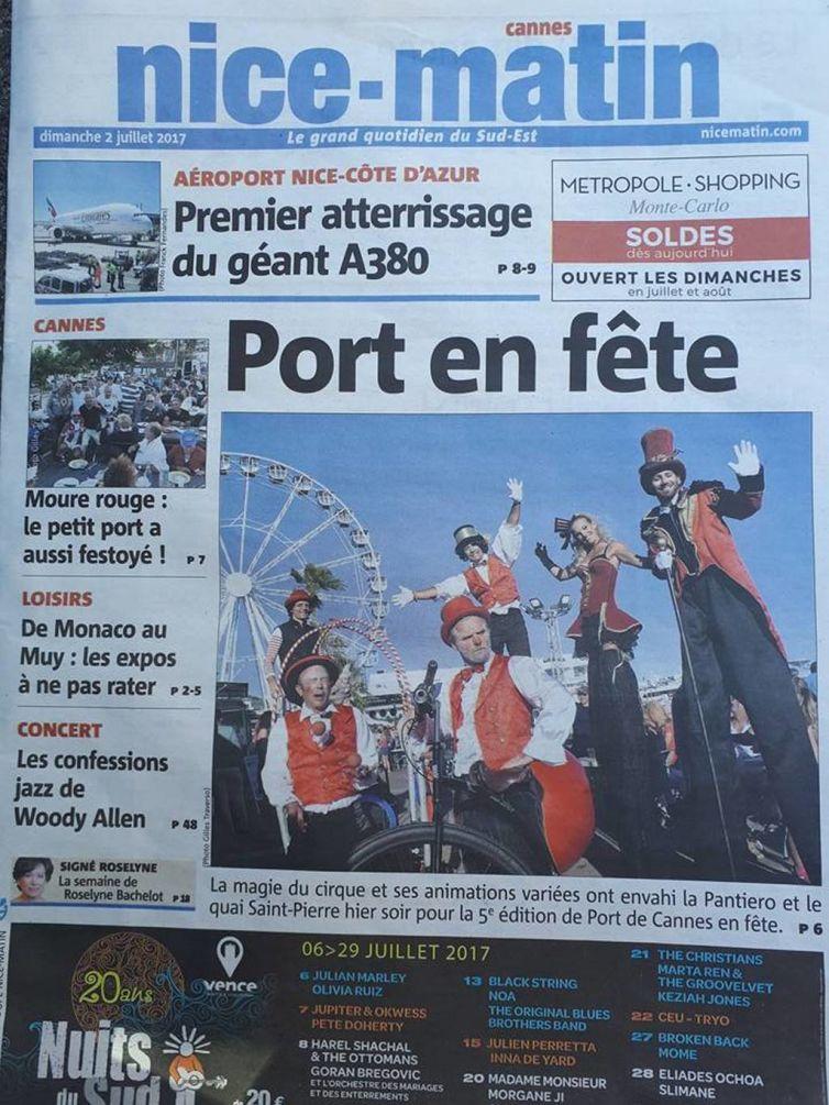 Fête du Port de Cannes 2017