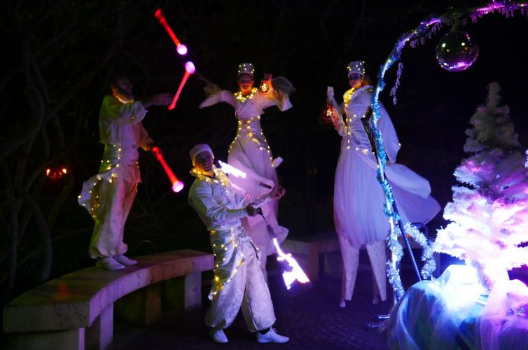 Déambulation lumineuse pour les fêtes de Noël de Beaulieu
