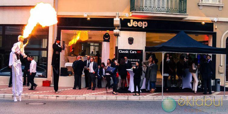 Lancement produit Jeep