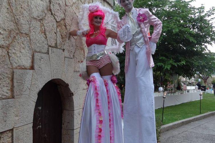Wedding in Villefranche-sur-Mer's Citadelle