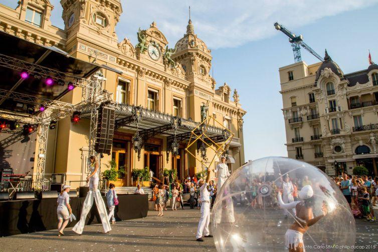 Monaco's Open-air Casino