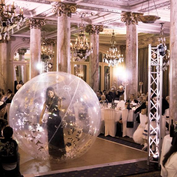 violonistes en bulles - Eklabul événéments
