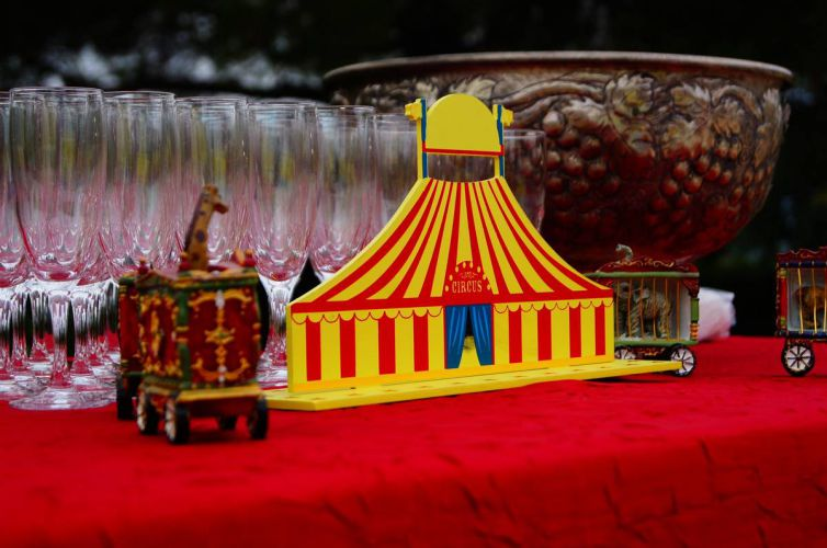 Circus Party in Roquefort-les-Pins