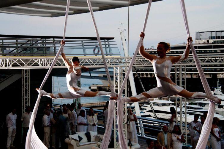 Soirée privée au Yacht Club de Monaco