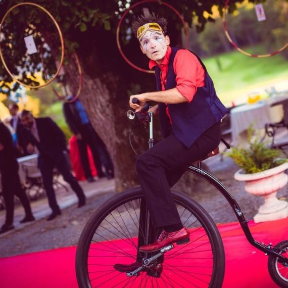 Mariage cirque Taulane - Eklabul Evenements