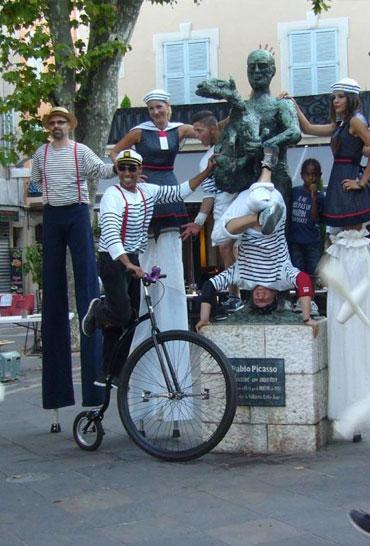 Spectacle de rue - Eklabul événement