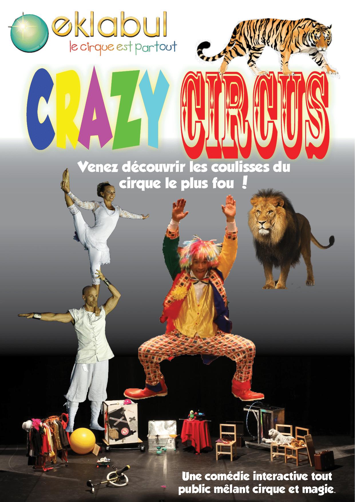 affiche Crazy Circus