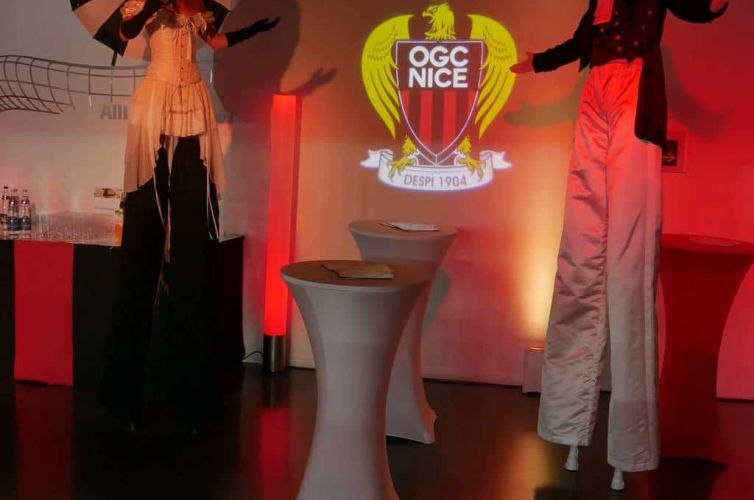 OGC Nice party at Allianz Riviera