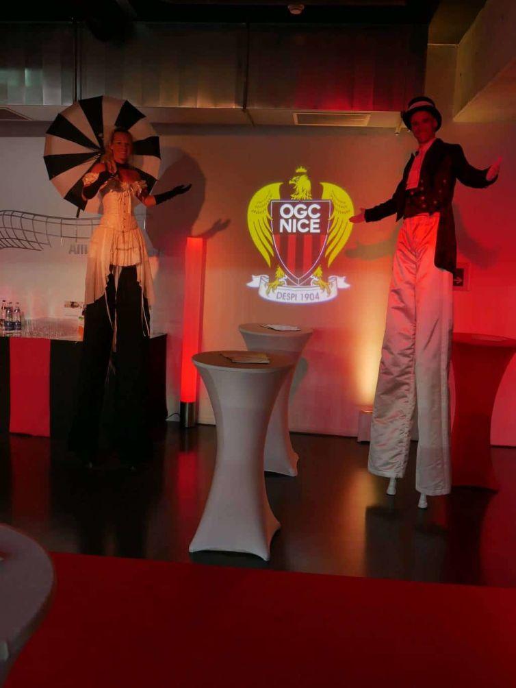 OGC Nice party at Allianz Riviera