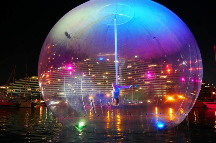 Bulle atmO²sphere sur l'eau