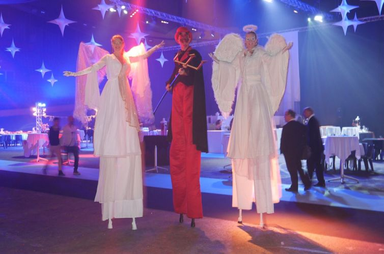 Angels & Demons party in Grenoble