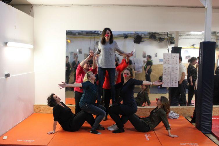 Circus Team Building at Eklabul