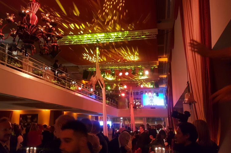 Russian New Year party in Monaco