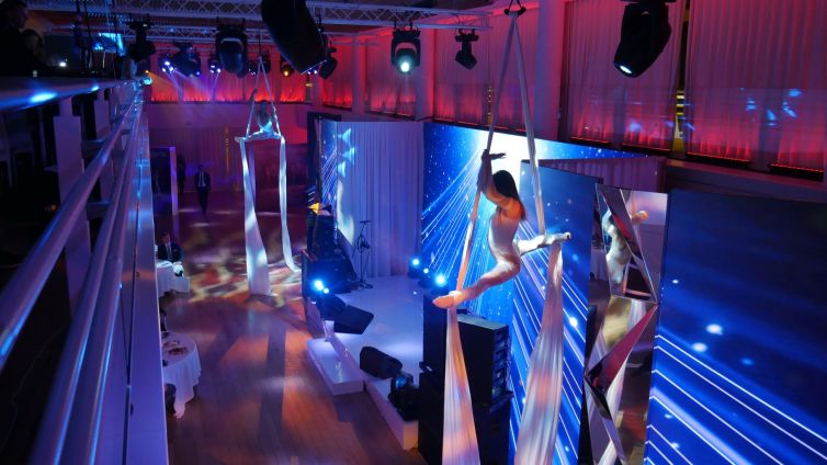 Corporate party at the Yacht Club of Monaco