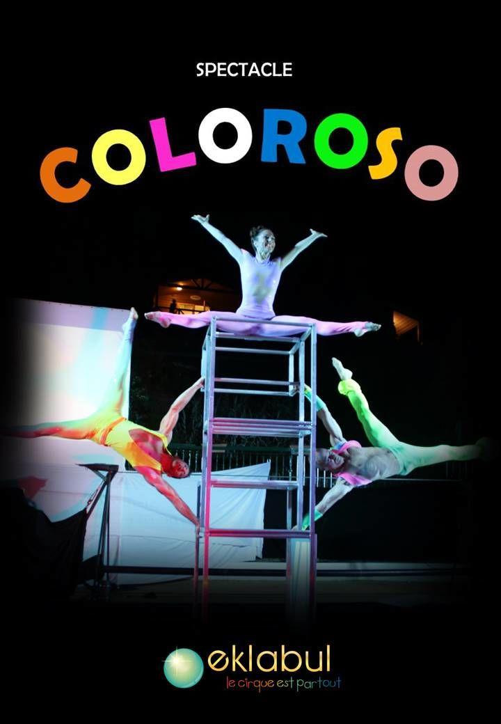 Our Coloroso show in 3 artists version