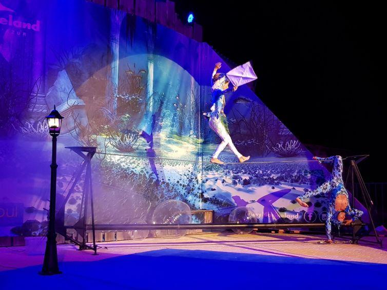 L'Atlantide : spectacle Eklabul à Marineland
