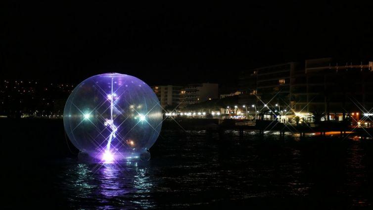 L'atmO²sphere en mer à Juan les Pins