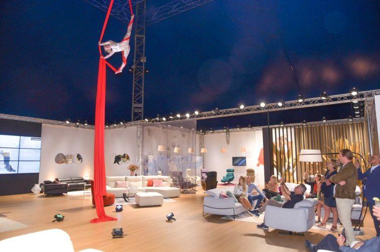 Soirée Home Salon au chapiteau de Monaco