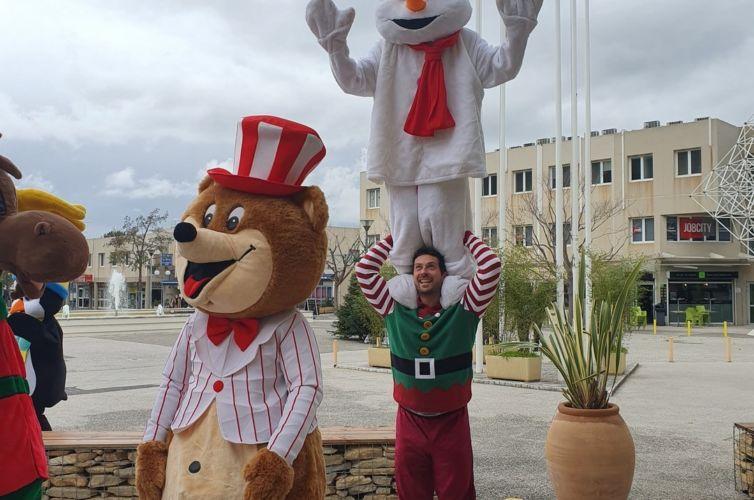 Arbre de Noël au palais des congrès d'Aubagne