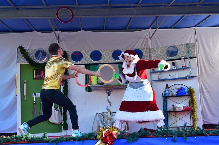 La bûche de Noël au Théâtre de Verdure